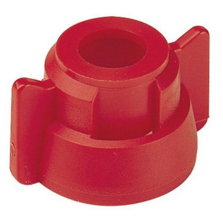 Ecrou + Joint pour buses 11mm Rouge