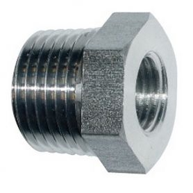 Réduction Inox 3/4''M x 1/2''F