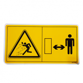 PICTOGRAMME DANGER PROJECTION RÉF. 59900200 - KUHN