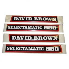 Kit Décalques David Brown 880 Selectamatic pour DAVID BROWN
