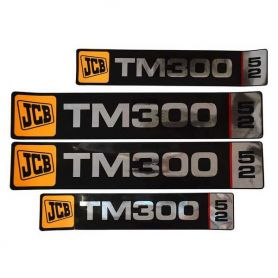 Kit de décalcomanie JCB TM300 pour JCB