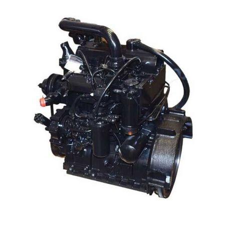 SISU moteur complet 33 DT 3.3L 3 cylindres pour MASSEY FERGUSON