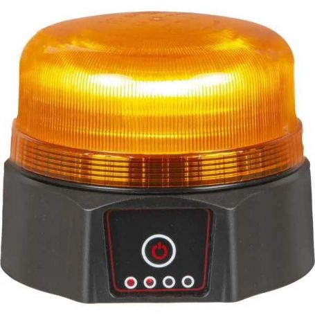 GYROPHARE LED RECHARGEABLE AIMANTE 2 FONCTIONS
