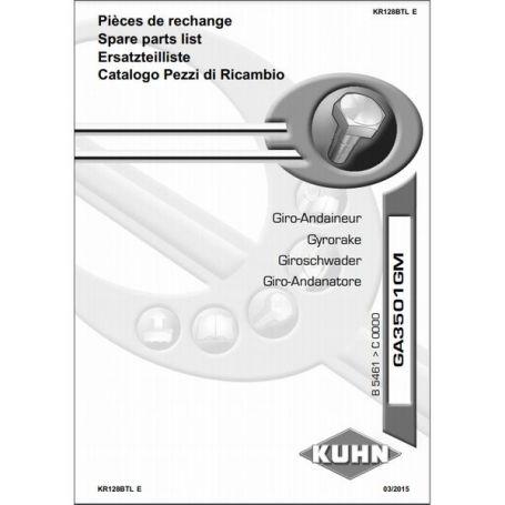 CATALOGUE PDR GA3501 RÉF. KR128BTL - KUHN