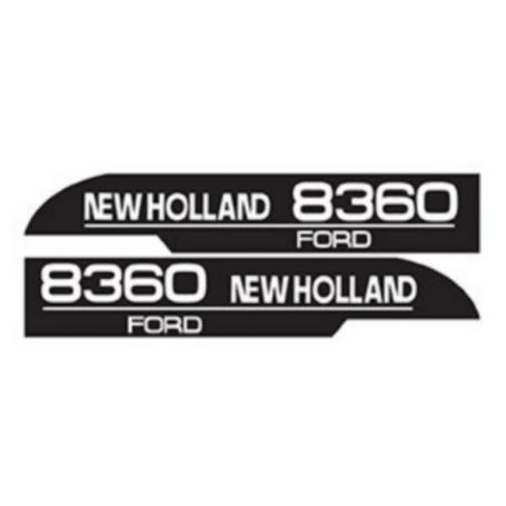 Kit d'autocollants «New Holland 8360» réf. 82007997 - Ford New Holland