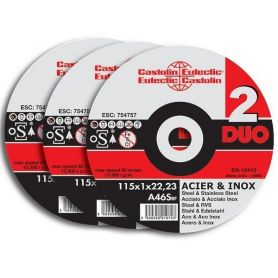 DISQUE A TRONCONNER 125X1.6 - XH125DUO1650