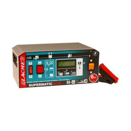 SUPERMATIC 6-12 LCD CHARGEUR - 506700